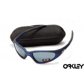 Oakley minute navy and grey iridium