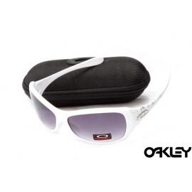 Oakley necessity white and violet ridium