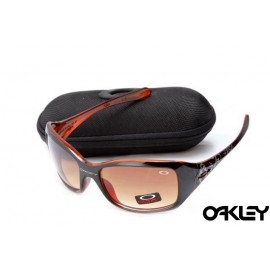 Oakley necessity polished black and VR50 brown gradient