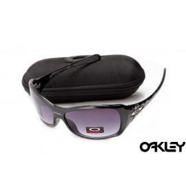 Oakley necessity polished black and violet  iridium