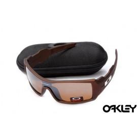 Oakley oil drum sunglasses in dark brown and VR28 for sale