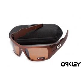 Oakley oil drum sunglasses in dark brown and brown sale