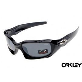 Oakley pit boss sunglasses in polished black and grey iridium sale
