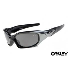Oakley pit boss sunglasses in polished black and black iridium