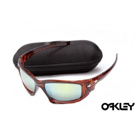 Oakley scalpel sunglasses in red marble and ice iridium