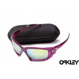 Oakley scalpel sunglasses in crystal pink and ice iridium