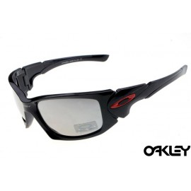 Oakley scalpel sunglasses in black and clear