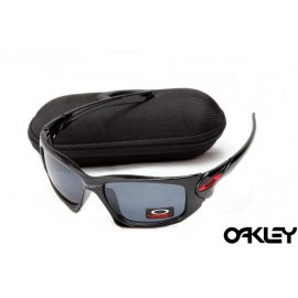 Oakley scalpel sunglasses in polished black and grey