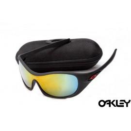 Oakley speechless matte black and fire iridum
