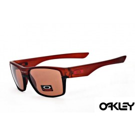 Oakley twoface sunglasses in brown and brown iridium