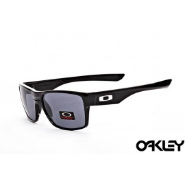 Oakley twoface sunglasses in matte black and cristal clear
