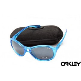 Oakley vacancy crystal blue and black iridium