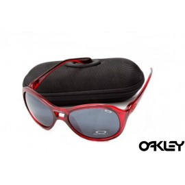 Oakley vacancy crystal red and black iridium