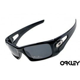 Oakley crankcase sunglasses in polished black and grey iridium
