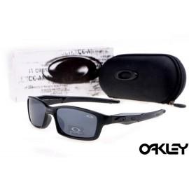 Oakley crosslink sunglasses in polished black and black iridium
