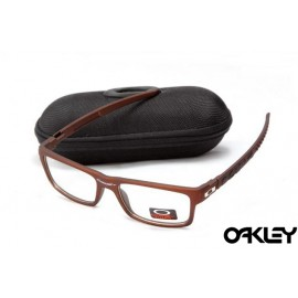 Oakley currency sunglasses in brown and clear iridium