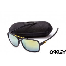 Oakley deviation sunglasses in matte black and ice iridium