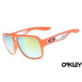Oakley dispatch II sunglasses in island orange and ice iridium