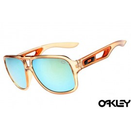 Oakley dispatch II sunglasses in clear brown and ice iridium