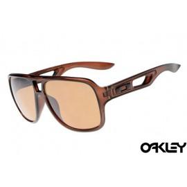 Oakley dispatch II sunglasses in dark amber and bronze polarized