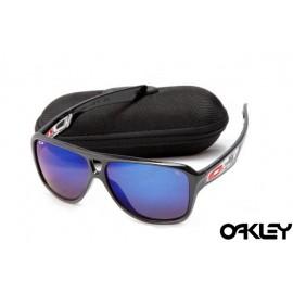 Oakley dispatch II sunglasses in black and blue iridium