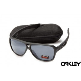 Oakley dispatch II sunglasses in matte black and black iridium