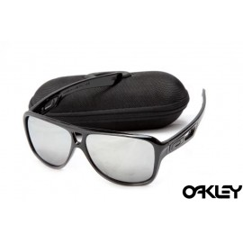 Oakley dispatch II sunglasses in polished black and silver iridium