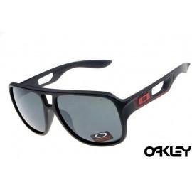 Oakley dispatch II sunglasses in matte black and grey iridium