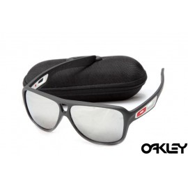 Oakley dispatch II sunglasses in matte black and silver iridium