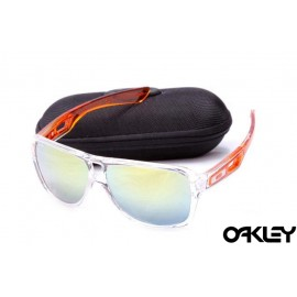 Oakley dispatch II sunglasses in clear and ice iridium