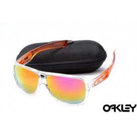 Oakley dispatch II sunglasses in transparent and fire iridium