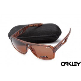 Oakley dispatch II sunglasses in brown tortoise and bronze polarized
