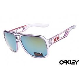 Oakley dispatch II sunglasses in clear and ice iridium