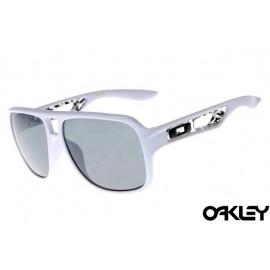 Oakley dispatch II sunglasses in polished white and grey iridium