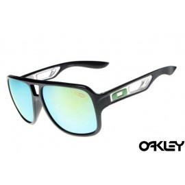 Oakley dispatch II sunglasses in polished black and ice iridium