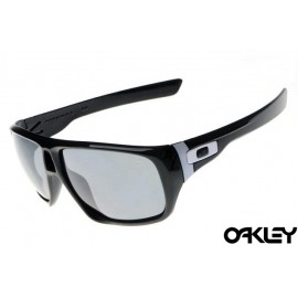 Oakley dispatch sunglasses in polished black and grey iridium