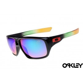 Oakley dispatch sunglasses in polished black camo and ice iridium