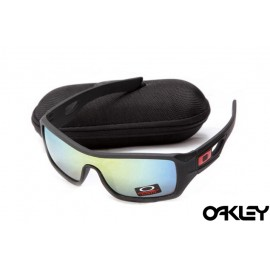 Oakley eyepatch 2 matte black and ice iridium for sale