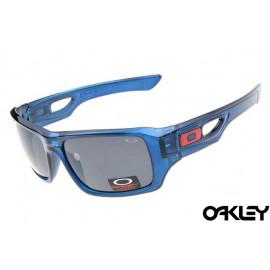 Oakley eyepatch 2 crystal blue and black iridium