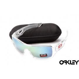 Oakley eyepatch 2 clear and ice iridium