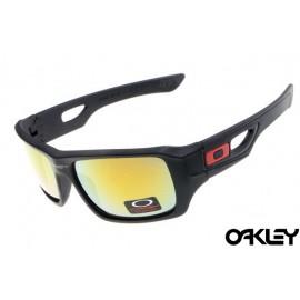 Oakley eyepatch 2 matte black and fire iridium