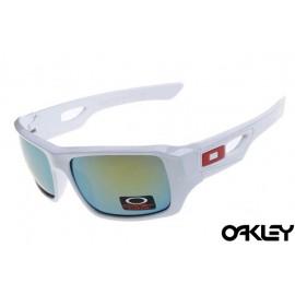 Oakley eyepatch 2 matte white and ice iridium