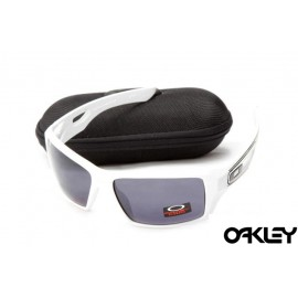 Oakley eyepatch 2 matte white and black iridium