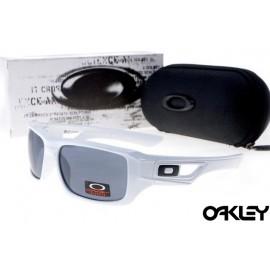 Oakley eyepatch 2 white and black iridium sale