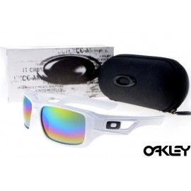 Oakley eyepatch 2 white and colorful iridium