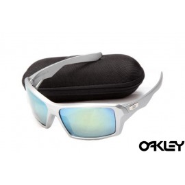 Oakley eyepatch silver and ice iridium