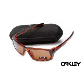 Oakley eyepatch acid tortoise red and brown