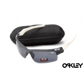 Oakley fast jacket sunglasses in black and coyote and black iridium