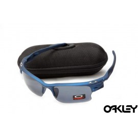 Oakley fast jacket sunglasses in pacific blue and grey
