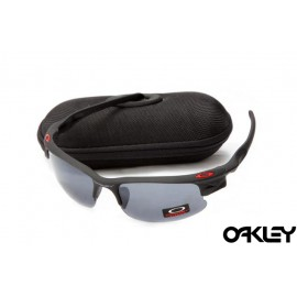 Oakley fast jacket sunglasses in matte black and grey